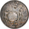 1758-Dated Louisbourg Taken, Silver Medal, Betts-410, MS62 NGC