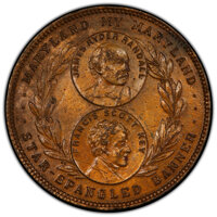 1915 Panama-Pacific International Exposition, Maryland State Fund, HK-407, R.5, MS60 Brown PCGS