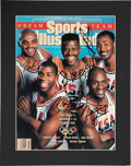 Basketball Collectibles:Publications, 1991 Dream Team Signed Sports Illustrated Cover....