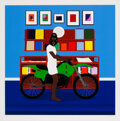Prints & Multiples, Dennis Osadebe (20th Century). Enjoy Yourself, 2021. Giclee print in colors on Hahnemule Museum Etching Fine Art paper. ...