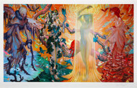 James Jean (b. 1979) Seasons, 2014 Giclee in colors on Archival Cotton-Rag paper 24 x 40 inches (