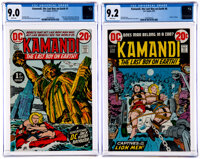 Kamandi, the Last Boy on Earth #1 and 6 Group (DC, 1972) CGC VF/NM 9.0 White pages and NM- 9.2 White pages.... (Total: 2...