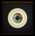 """Music Memorabilia:Awards, The Beatles """"Twist and Shout"""" In-House Tollie Gold Record Award With Hardcover Copy of The Beatles On Vee-Jay. ... (Total: 2 Items)"""