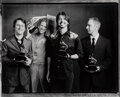 Photographs, Danny Clinch (American, 1964). Foo Fighters at the Grammys, 2003. Toned gelatin silver print, printed 2008. 18-1/4 x 22-...