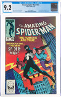 Modern Age (1980-Present):Superhero, The Amazing Spider-Man #252 (Marvel, 1984) CGC NM- 9.2 White pages....