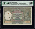 India Reserve Bank of India 100 Rupees ND (1943) Pick 20e Jhun4.7.2B PMG Very Fine 30 Net