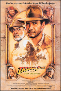 """Indiana Jones and the Last Crusade (Paramount, 1989). Rolled, Very Fine. One Sheet (27"""" X 40"""") SS Advance, Dre..."""