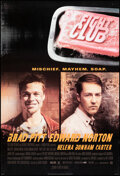 """Movie Posters:Action, Fight Club & Other Lot (20th Century Fox, 1999). Rolled, Overall: Very Fine-. One Sheets (2) (27"""" X 40"""") DS Advance. Action.... (Total: 2 Items)"""