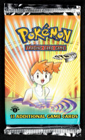 Memorabilia:Trading Cards, Pokémon First Edition Gym Heroes Set Sealed Booster Pack (Wizards of the Coast, 2000). ...