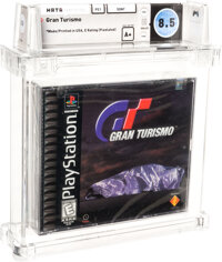 Gran Turismo - Wata 8.5 A+ Sealed [Sony Security Label], PS1 Sony 1998 USA