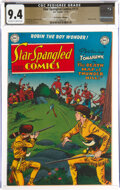 Golden Age (1938-1955):Western, Star Spangled Comics #111 The Promise Collection Pedigree (DC, 1950) CGC NM 9.4 Off-white to white pages....