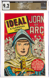 Ideal #3 Joan of Arc - The Promise Collection Pedigree (Timely, 1948) CGC NM- 9.2 Off-white to white pages