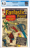 Silver Age (1956-1969):Superhero, Fantastic Four #20 (Marvel, 1963) CGC NM- 9.2 White pages....