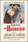 """Movie Posters:Drama, The Heiress (Paramount, 1949). Fine/Very Fine on Linen. One Sheet (27.25"""" X 41""""). Drama.. ..."""