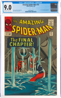 The Amazing Spider-Man #33 (Marvel, 1966) CGC VF/NM 9.0 Off-white to white pages
