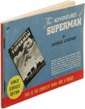 Books:First Editions, George Lowther: The Adventures of Superman Armed ServicesEdition. (New York: Random House, 1942), first thus, Armed...