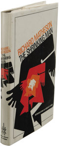 Books:First Editions, Richard Matheson: The Shrinking Man. (London: David Bruce& Watson, 1973), first hardcover edition, 188 pages, brownclo...