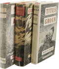 Books:Non-fiction, Mervyn Peake Complete Gormenghast Trilogy in Fine First Editions. A beautiful collected set including:. Titus Groan.... (Total: 3 )