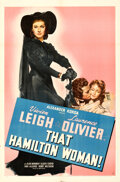 Movie Posters:Drama, That Hamilton Woman (United Artists, 1941). Folded, Very F...