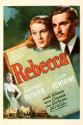 Movie Posters:Hitchcock, Rebecca (United Artists, 1940). Fine/Very Fine on Linen.