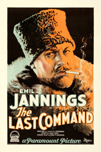 """The Last Command (Paramount, 1928). Very Fine on Linen. One Sheet (27"""" X 41"""")"""