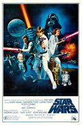 Movie Posters:Science Fiction, Star Wars (20th Century Fox, 1977). Folded, Very Fine+.