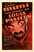 Movie Posters:Drama, The Story of Louis Pasteur (Warner Bros., 1935). Fine- on ...