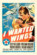 Movie Posters:War, I Wanted Wings (Paramount, 1941). Fine on Linen. O...