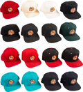 """Baseball Collectibles:Hats, 1986 """"Willie McCovey Hall of Famer"""" Caps Lot of 16 from The Willie McCovey Collection...."""