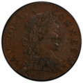 1788 CONNCT Connecticut Copper, Mailed Bust Right, M. 2-D, W-4405, R.1, AU55 PCGS. PCGS Population: (2/3 and 0/0+). NGC...