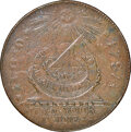 1787 CENT Fugio Cent, STATES UNITED, 4 Cinquefoils, Pointed Rays, AU55 NGC. N. 13-X, W-6855, R.2. NGC Census: (30/211)...