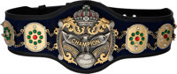 1981 Dory Funk Jr. Match Worn & Signed NWA International Heavyweight Championship Belt with Photo Reference from The...