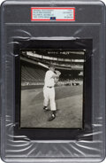Baseball Collectibles:Photos, Circa 1951 Willie Mays Original Photograph by William Jacobellis Used for 1955 Topps Card, PSA/DNA Type 1....