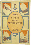 Books:First Editions, Victor Appleton. Tom Swift and His Motor Cycle....