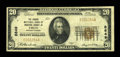 National Bank Notes:Pennsylvania, Troy, PA - $20 1929 Ty. 1 The Grange NB of Bradford County Ch. #8849. ...