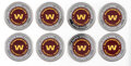 Football Collectibles:Others, Washington Football Team Commemorative Coins, Lot of 8....