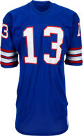 Football Collectibles:Uniforms, 1976 Dave Jennings Game Worn New York Giants Game Worn Jersey & 1983 Brad Van Pelt Game Worn New York Giants Game Worn Pants....