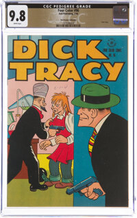Four Color #96 Dick Tracy - The Promise Collection Pedigree (Dell, 1946) CGC NM/MT 9.8 White pages