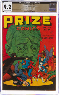 Prize Comics #37 The Promise Collection Pedigree (Prize, 1943) CGC NM- 9.2 Off-white to white pages
