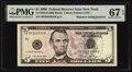 Small Size:Federal Reserve Notes, Super Repeater Serial Number 39393939 Fr. 1993-B $5 2006 Federal Reserve Note. PMG Superb Gem Unc 67 EPQ.. ...