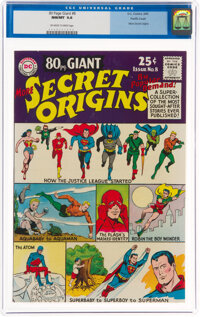 80 Page Giant #8 Secret Origins - Pacific Coast Pedigree (DC, 1965) CGC NM/MT 9.8 Off-white to white pages