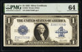 Large Size:Silver Certificates, Fr. 238 $1 1923 Silver Certificate PMG Choice Uncirculated 64.. ...