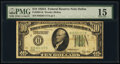 Fr. 2001-K $10 1928A Federal Reserve Note. PMG Choice Fine 15