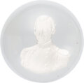 Political:3D & Other Display (pre-1896), Zachary Taylor: Sulphide Paperweight by Clichy. ...