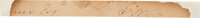 """George Washington: Clipped Signature with Initials """"G.W."""""""