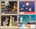 """Movie Posters:Horror, Back from the Dead & Other Lot (20th Century Fox, 1957). Overall: Very Fine-. Title Lobby Card, Lobby Cards (3) (11"""" X 14""""),... (Total: 5 Items)"""