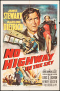 """Movie Posters:Drama, No Highway in the Sky & Other Lot (20th Century Fox, 1951). Folded, Fine/Very Fine. One Sheets (2) (27"""" X 41""""). Drama.. ... (Total: 2 Items)"""