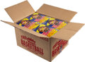 Basketball Cards:Unopened Packs/Display Boxes, 1988 Fleer Basketball Wax Case with Twelve Unopened Boxes - Opened June 2021. ...