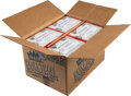 Basketball Cards:Unopened Packs/Display Boxes, 1989 Fleer Basketball Wax Case with Twelve Unopened Boxes - Opened June 2021. ...