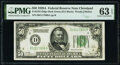 Fr. 2101-D $50 1928A Federal Reserve Note. PMG Choice Uncirculated 63 EPQ